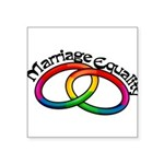 marriage-equality_tr.png Square Sticker 3