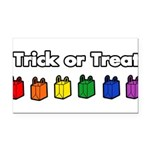trick-or-treat-rw_tr.png Rectangle Car Magnet