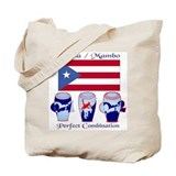 LimEd P.R. large Flag Tote Bag