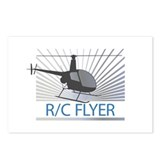 Radio Control Flyer Helicopter Postcards (Package