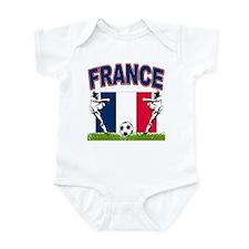 France World Cup Soccer Infant Bodysuit
