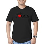 hellaGSA_front.png Men's Fitted T-Shirt (dark)