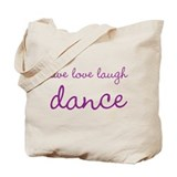 Dance Canvas Totes