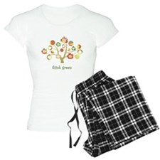 think green enviro tree Pajamas