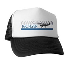 RC Flyer Hign Wing Airplane Trucker Hat