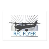 RC Flyer Hign Wing Airplane Postcards (Package of