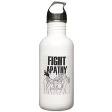 Fight Apathy Water Bottle