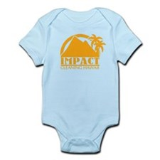 Impact Cleaning Hawaii Logo Infant Bodysuit