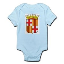 Barcelona Coat Of Arms Infant Creeper