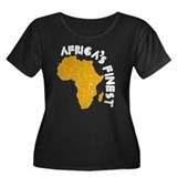 Eritrea Africa's finest Women's Plus Size Scoop Ne