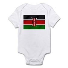 Flag of Kenya Infant Bodysuit