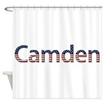 Camden Stars and Stripes Shower Curtain