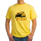 Yellow 4X4 off-roader T