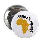 "South Sudan Africa's finest 2.25"" Button"
