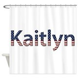 Kaitlyn Stars and Stripes Shower Curtain