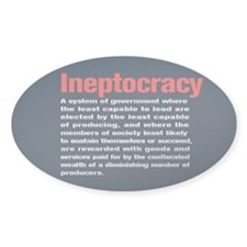 Ineptocracy Definition Decal