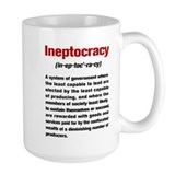 Ineptocracy Definition Mug