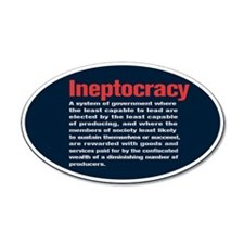 Ineptocracy Definition Wall Decal