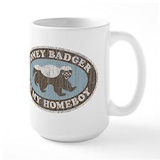 Vintage Honey Badger HB Mug