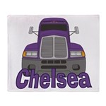 Trucker Chelsea Throw Blanket
