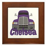 Trucker Chelsea Framed Tile