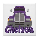 Trucker Chelsea Tile Coaster