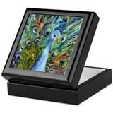 Peacock Party Keepsake Box