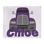 Trucker Chloe Throw Blanket