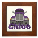 Trucker Chloe Framed Tile