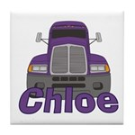 Trucker Chloe Tile Coaster
