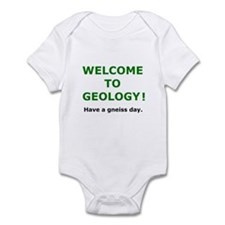Geology Welcome 3 Infant Bodysuit