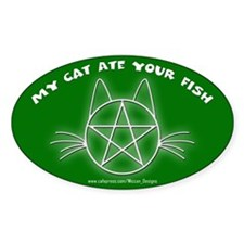 MCAYF (Green) - Oval Decal