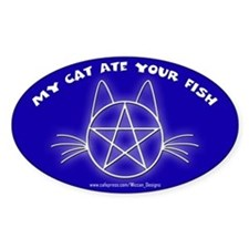 MCAYF (Blue) - Oval Decal