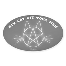 MCAYF (Black) - Oval Decal