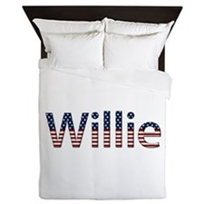 Willie Stars and Stripes Queen Duvet