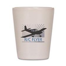RC Flyer Low Wing Airplane Shot Glass