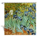 Van Gogh Irises Shower Curtain