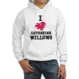 vintage I heart Catherine Willows.png Hoodie