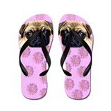Pug Flip Flops