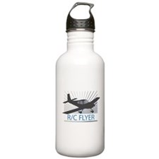 RC Flyer Low Wing Airplane Water Bottle