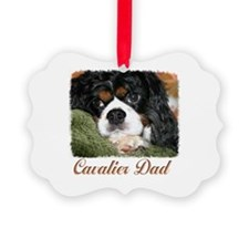 Cavalier Dad Ornament