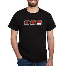 Peace, Love and Monaco T-Shirt