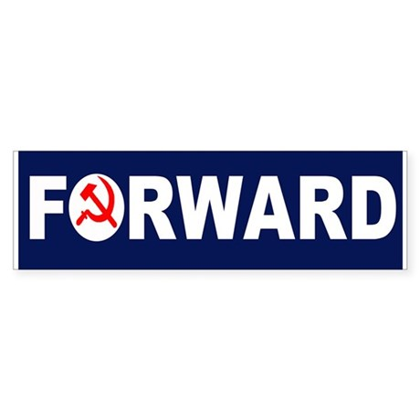 AmerikaForward Sticker (Bumper)