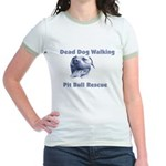Smiling Pitbull Jr. Ringer T-Shirt