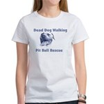 Smiling Pitbull Women's T-Shirt