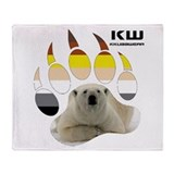 KW POLAR BEAR Throw Blanket