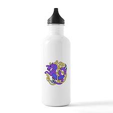 Celtic Hippocampus 1b Water Bottle