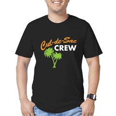 cul-de-sac crew Men's Fitted T-Shirt (dark)