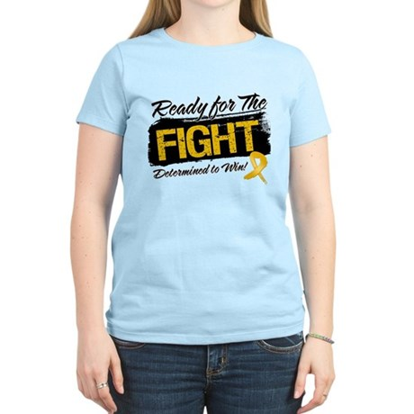 Ready Fight Appendix Cancer Women's Light T-Shirt