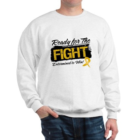 Ready Fight Appendix Cancer Sweatshirt